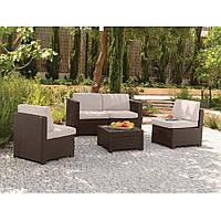 Набор садовой мебели Modus Set Brown ( коричневый ) из искусственного ротанга, фото 1