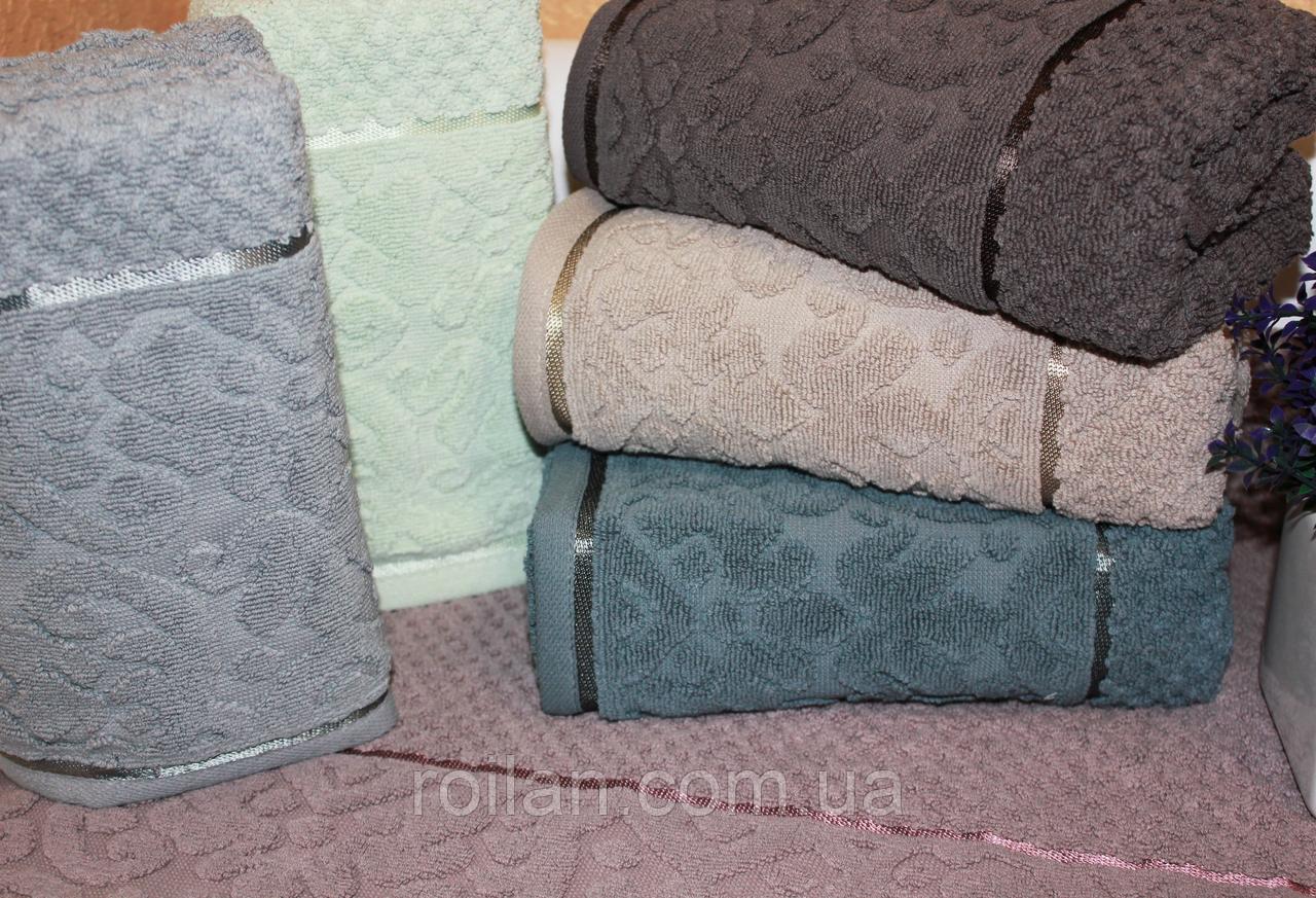 Метровые турецкие полотенца DELINA