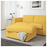 IKEA VIMLE Подставка для ног с ящиком для хранения, Оррста материал (692.054.57)