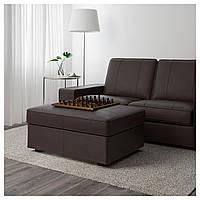 IKEA KIVIK Подставка для ног, Grann, Бомстад темно-коричневый (402.006.34)