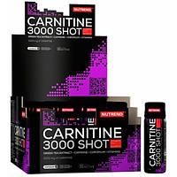 Nutrend Жиросжигатель Nutrend Carnitine 3000 Shot, 20x60 мл (клубника)