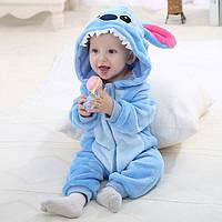 """Детская пижама кигуруми для мальчика """"Стич"""""""