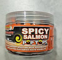 Бойлы нейтральной плавучести Starbaits Pop tops (Wafters) Spicy Salmon 14 mm