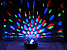 Музичний диско куля Crystal Magic з Bluetooth USB, Mp3,SD Сфера світломузикою 2-я динаміками і Пультом NEW!, фото 3