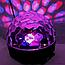 Музичний диско куля Crystal Magic з Bluetooth USB, Mp3,SD Сфера світломузикою 2-я динаміками і Пультом NEW!, фото 4