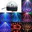 Музичний диско куля Crystal Magic з Bluetooth USB, Mp3,SD Сфера світломузикою 2-я динаміками і Пультом NEW!, фото 7