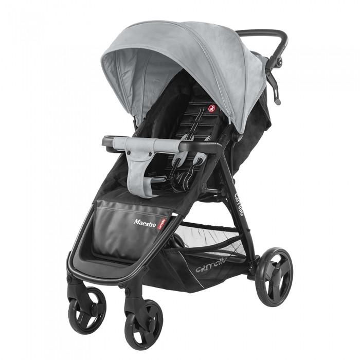 Коляска прогулочная CARRELLO Maestro CRL-1414 Pearl Grey + Дощовик L Гарантія якості Швидка доставка