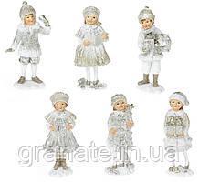 Декоративная фигурка Дети 12 см, 6 штук