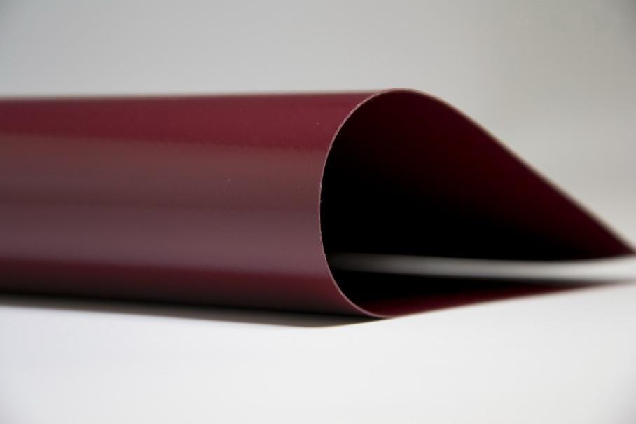 Тентовая ткань ПВХ 900 г/м² -бордовая SIOEN (Бельгия), водо-моростойкая