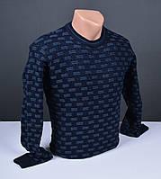 Мужской джемпер синий   Мужской свитер Турция 016