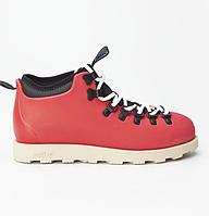 Оригинальные кроссовки NATIVE FITZSIMMONS CITYLITE TRUE RED/BONE WHITE (31106800-6320)
