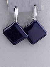 070218 Серьги 'Stainless Steel' Каирская ночь