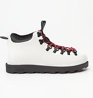 Оригинальные кроссовки NATIVE FITZSIMMONS CITYLITE SHELL WHITE/JIFFY BLACK 2019 (31106800-1910)