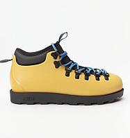 Оригинальные кроссовки NATIVE FITZSIMMONS CITYLITE ALPINE YELLOW/JIFFY BLACK 2019 (31106800-7546)