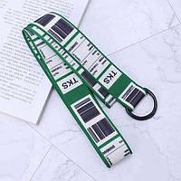 Ремень Пояс City-A TKS Штрих-код Belt 125 см Зеленый, фото 1
