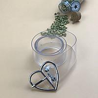 Ремень Пояс City-A Belt 100 см Прозрачный сердце, фото 1