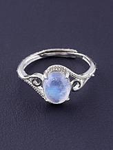 077653-999 Кольцо Лунный камень 2,08 г.