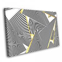 Картина на холсте Kronos Top Абстракция Линии 80 х 120 см (lfp_1076656043_80120)
