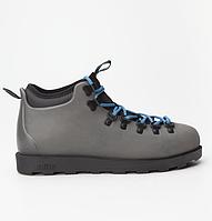Оригинальные кроссовки NATIVE FITZSIMMONS CITYLITE SHALE GREY/JIFFY BLACK (31106800-1300)