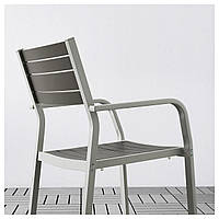 IKEA SJALLAND Садовый стол и 4 стула, стеклянные, куддарна (392.914.99)