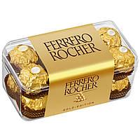 Конфеты FERRERO Rocher, шоколадные, 200г, пластиковая упаковка