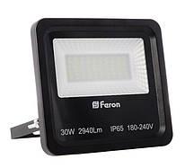 Прожектор светодиодный Feron LL-630 LED Черный (007657)