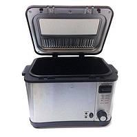 Фритюрница Silver Crest SEF3 2000 B1 4л Серебристо-черный (008178)