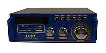 Усилитель звука Bluetooth радио UKC SN-3636BT Black (008072)