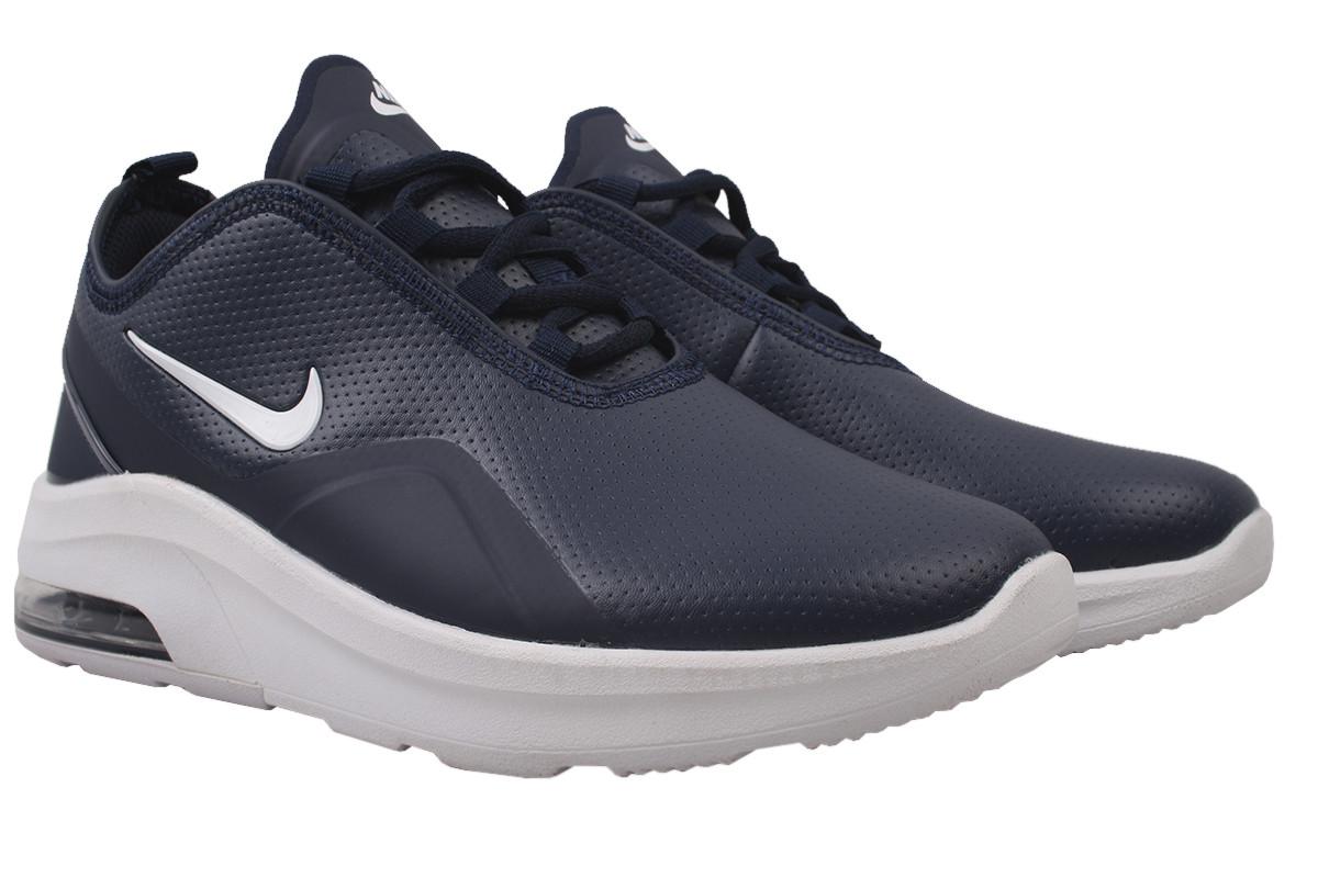 Кроссовки мужские Nike эко-кожа, цвет синий, размер 40-44