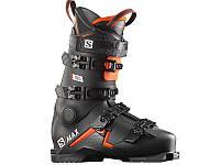 Горнолыжные ботинки Salomon S/MAX 100 Black/Orange/White 2020