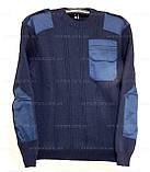 Светр нацгвардія/поліція/ДСНС/флотський (синій). Формений синя кофта. Нова, фото 5