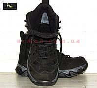 Зимние тактические ботинки (треккинг). Нубук на слимтексе. Новые., фото 1