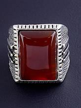 037860-200 Кольцо Сердолик