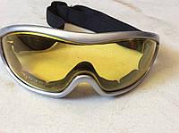 Очки защитные на резинке с прозрачными линзами, фото 1