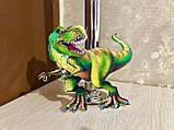 Топперы динозавры, большие динозавры на торт, топперы с принтом динозавров, фото 2