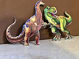 Топперы динозавры, большие динозавры на торт, топперы с принтом динозавров, фото 4