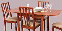 Стол Жанет 70*80 (110/140) орех лесной