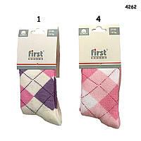 Носки First для девочки, махра. р. 27-30