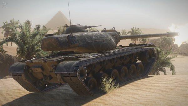Игру World of Tanks портировали на консоль Xbox One