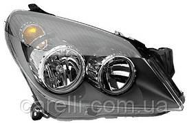 Фара передняя для Opel Astra Н '03- правая (DEPO) под электрокорректор