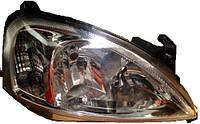 Фара передняя для Opel Combo '01-11 правая (DEPO) под электрокорректор