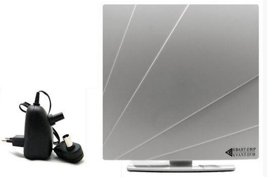 Комнатная антенна т2 Квант-Эфир ARU-01 для телевизоров со встроенным Т2