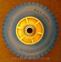 Колесо для тачки цельное  2.50-4/204 (Корея)Премиум