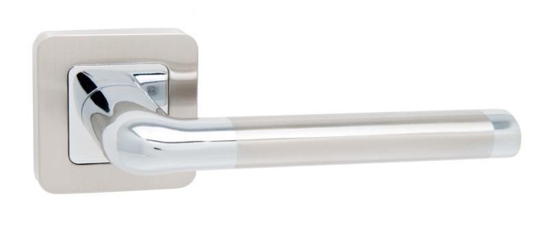 Дверні ручки Safita Space нікель/хром