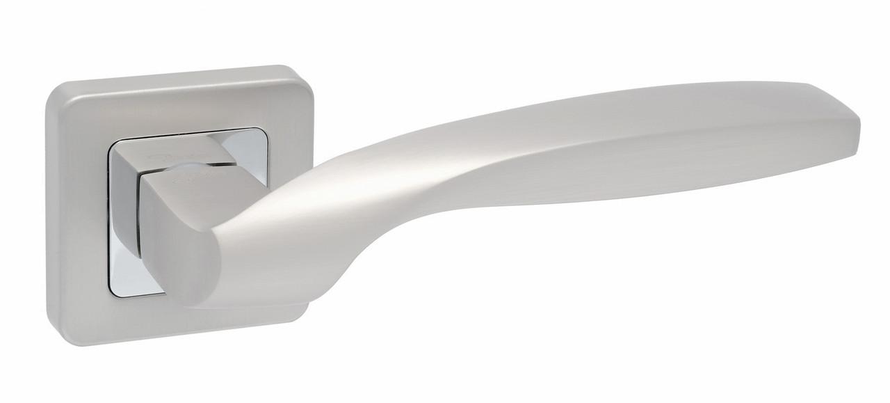 Дверні ручки Safita Twist матовий сатин нікель/хром