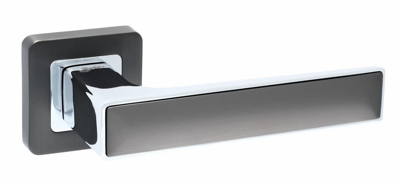 Дверні ручки Safita Twin графіт/хром