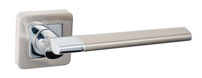 Ручки дверные Safita H359 никель/хром