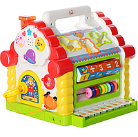 Сортер Теремок музыкальный  Limo Toy 9196