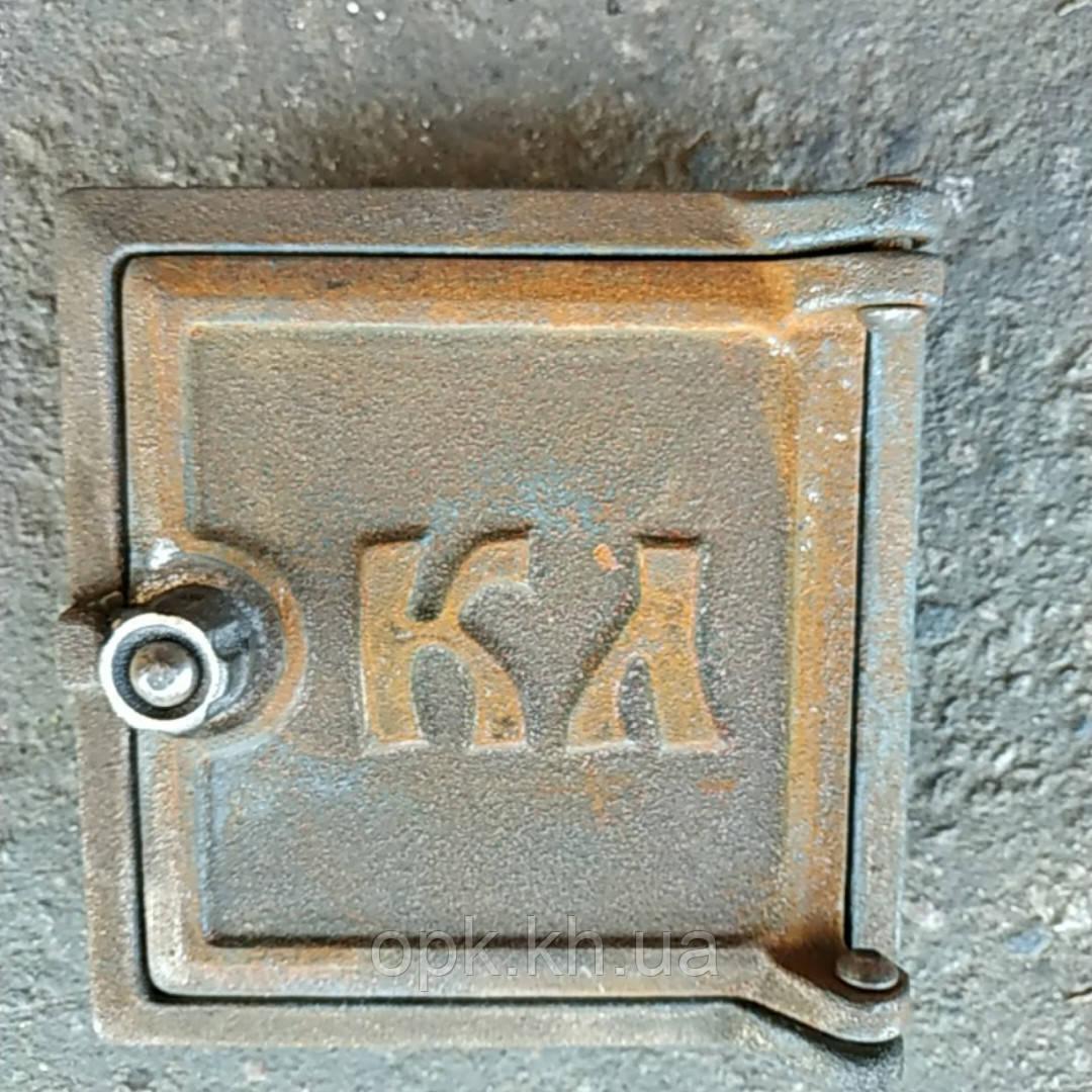 "Дверка чугунная для чистки сажи ""КЛ"" 130""135 мм (вес-2кг)"