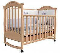 Детская кроватка Верес Соня ЛД 3 (бук) маятник + шухляда